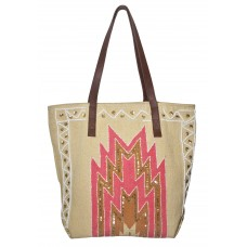 Sunburst PT Dhurrie Bag