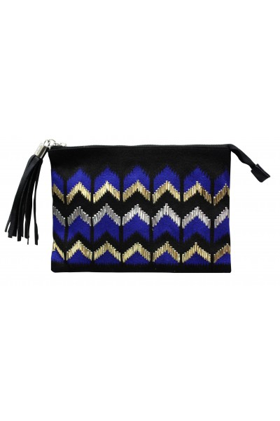 Twilight Blue Evening Clutch