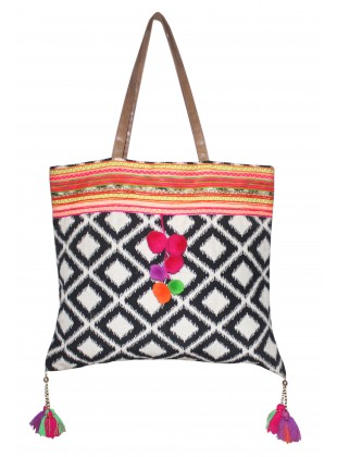 Tribal Jacquard Bag
