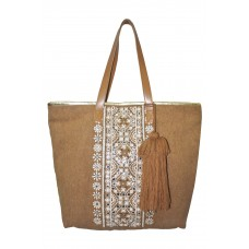 Sandstorm Embellished Tote Bag