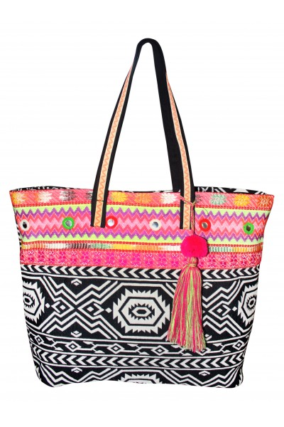 Awesome Aztec Jacquard Bag